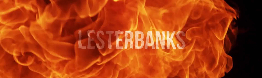 Fire Reveal Lester Banks Logo
