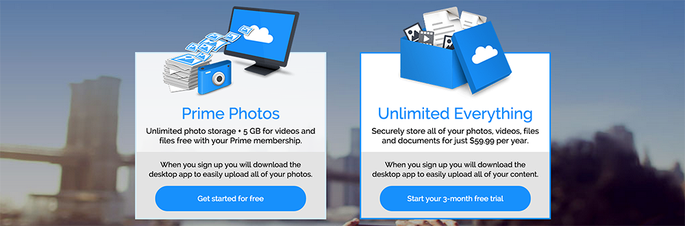 Prime Photos and Unlimited